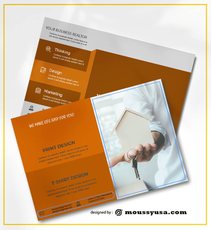 Realtor Postcard templates Ideas