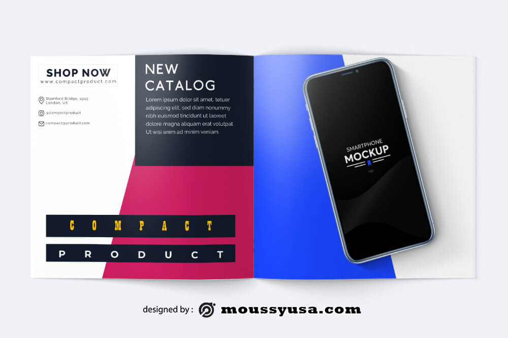 Sample Compact Product Catalog templates