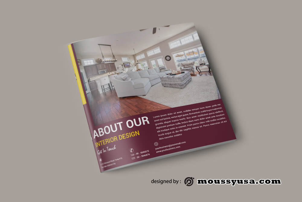 Sample Interior Design Catalog templates