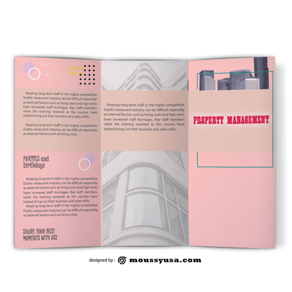 Sample Property Management Brochure templatess