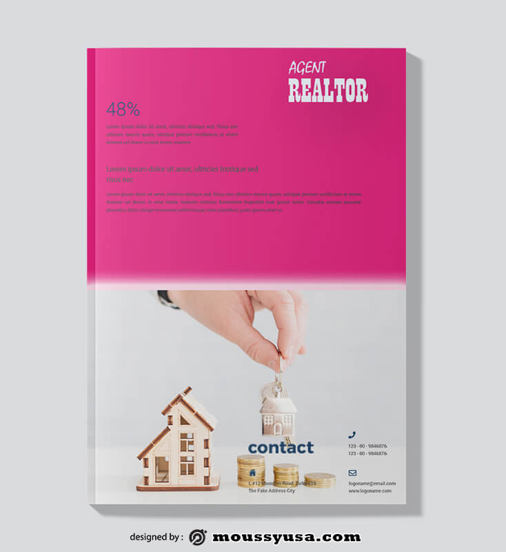 Sample Realtor Magazine templatess
