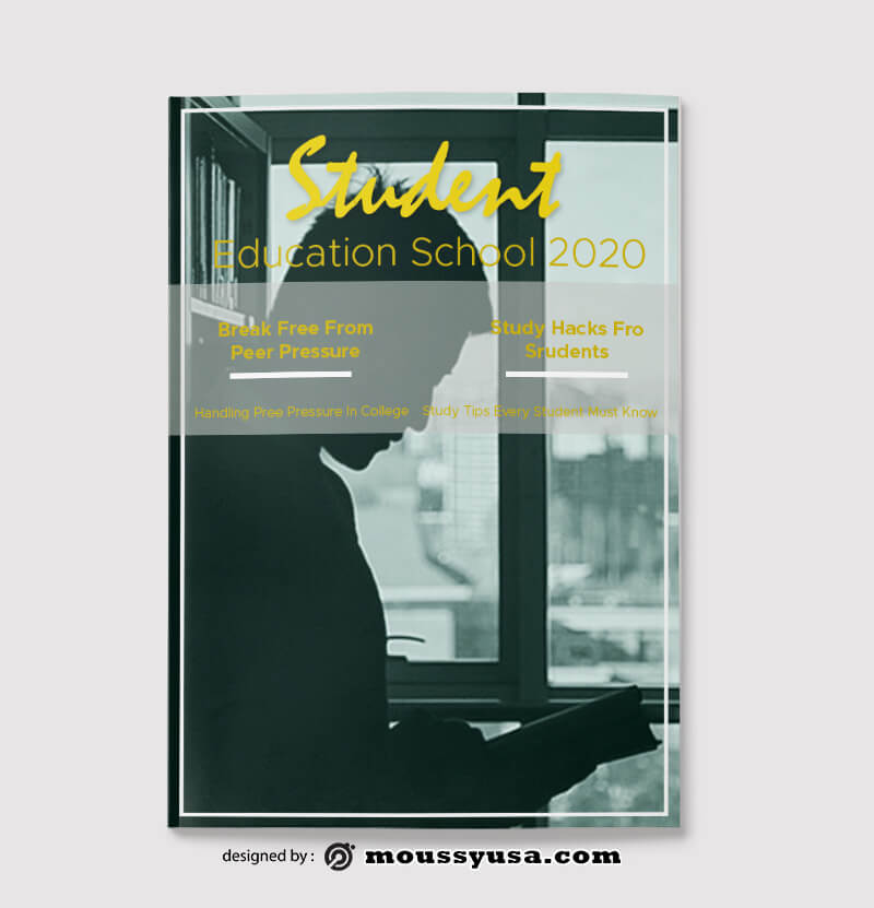 Sample Student Magazine templatess