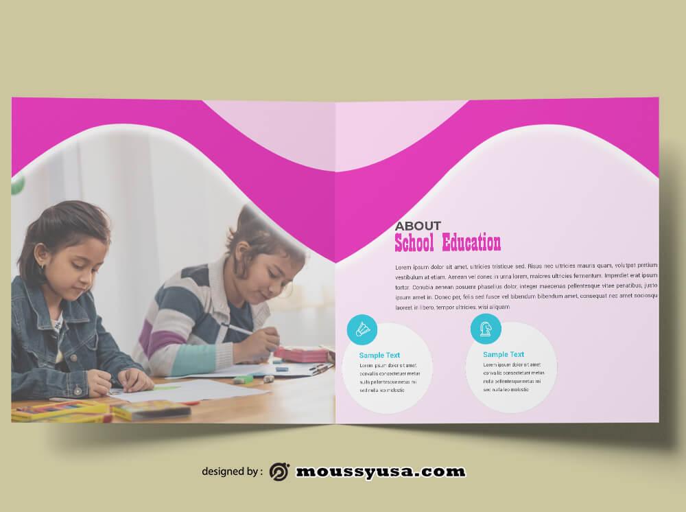 School Education Design PSD