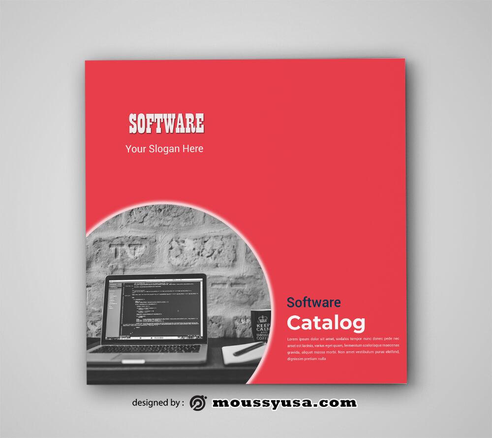 Software Catalog Design PSD