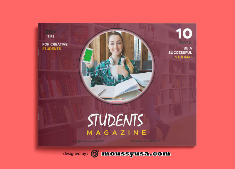 Student Magazine templates Ideas