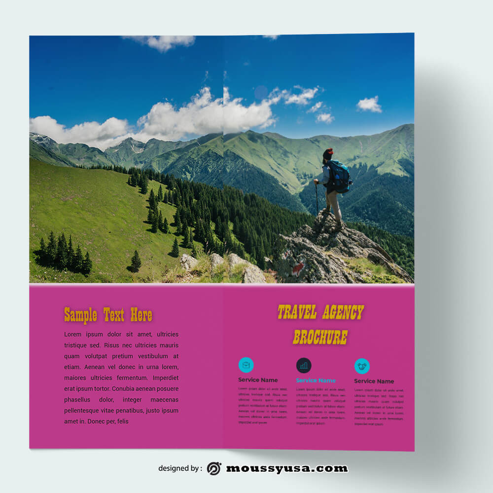 Travel Brochure templates Example