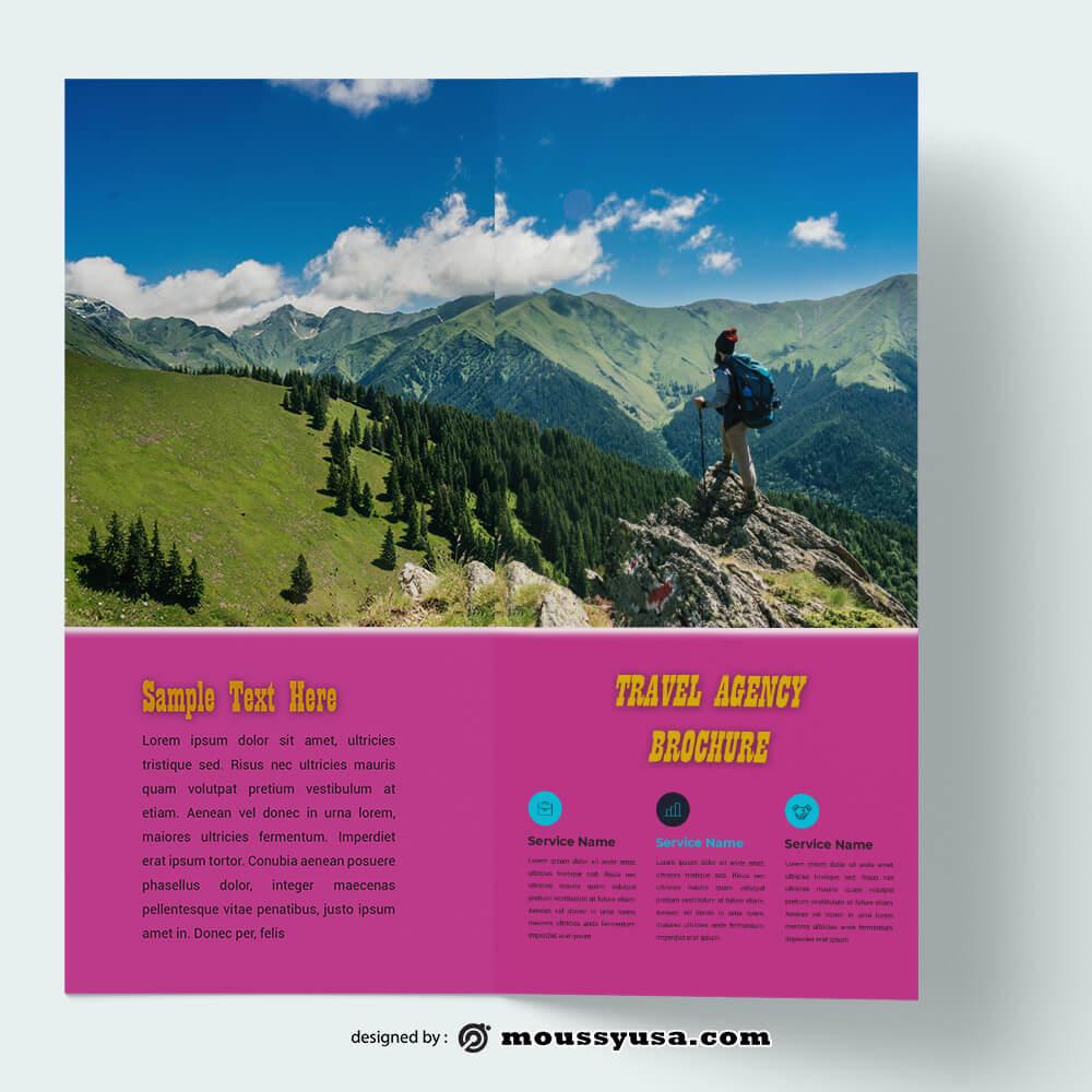 Travel Brochure templates Example