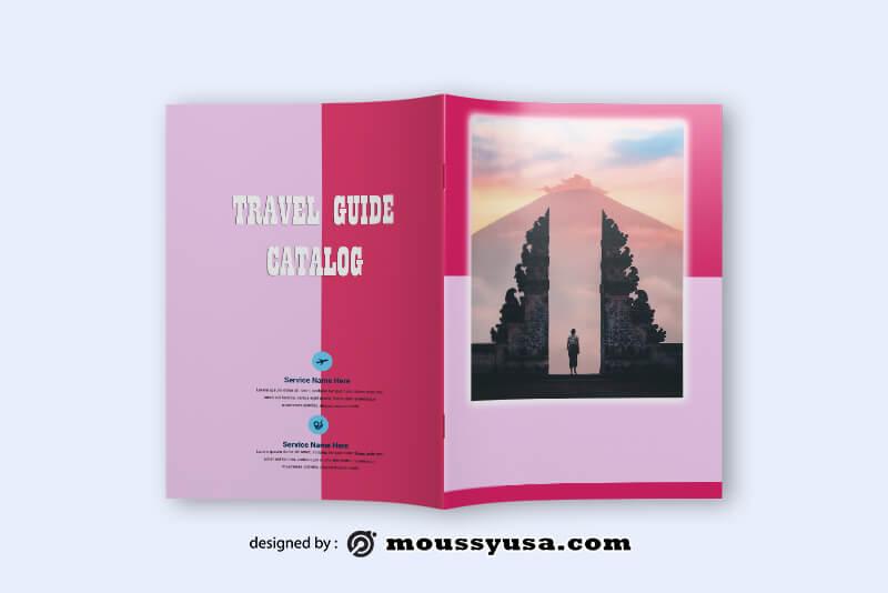 Travel Guid Catalog templates Design