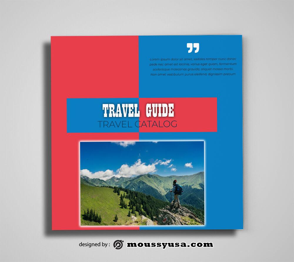 Travel Guid Catalog templates Ideas