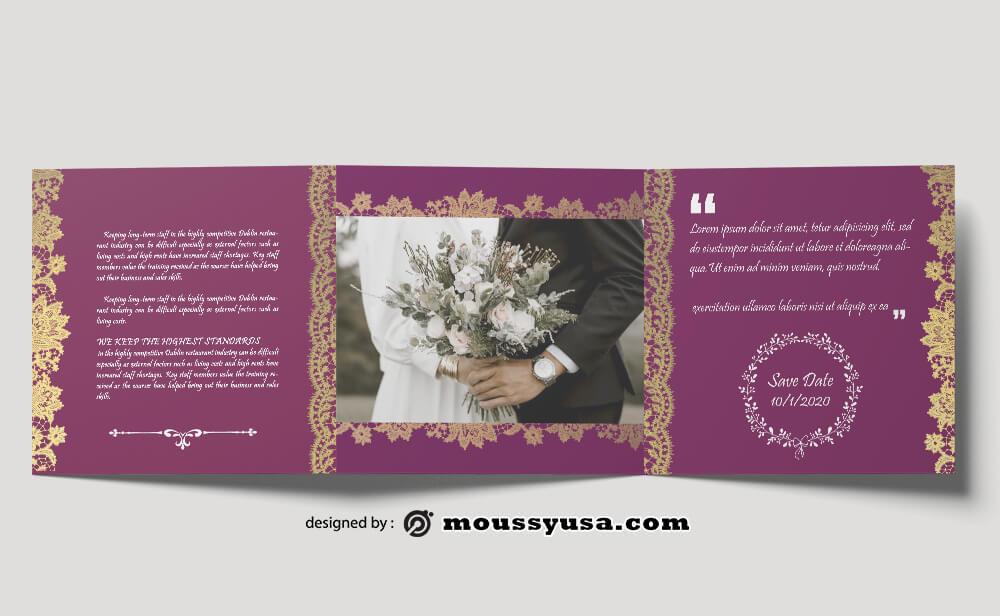 Wedding Planner brochure templates Ideas