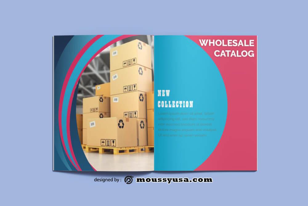 Wholesale Catalog Design PSD