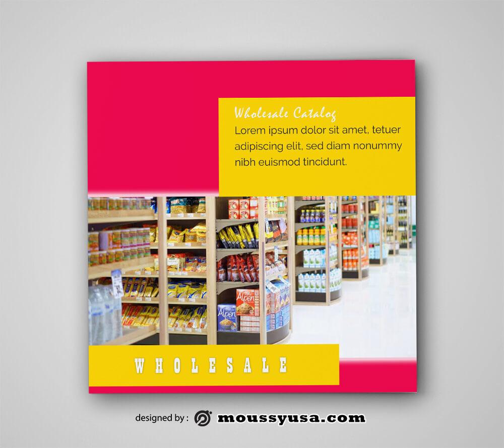 Wholesale Catalog Design templates