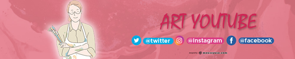 Youtube Banner template for photoshop