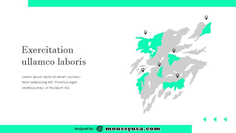 business presentation example psd design
