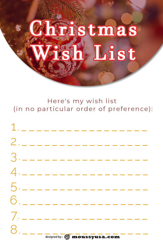 christmas wish list in photoshop free download
