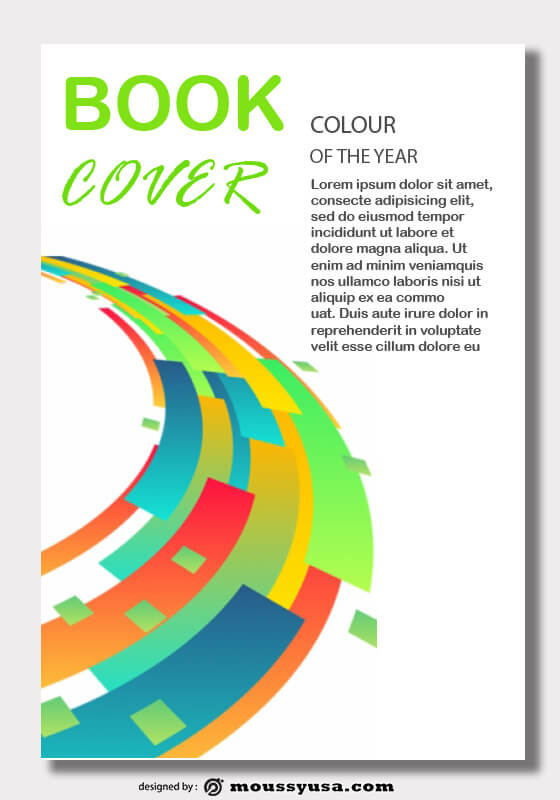 cover page template free psd