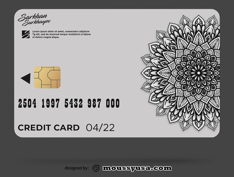 credit card free download psd