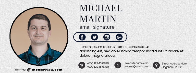email template template free psd