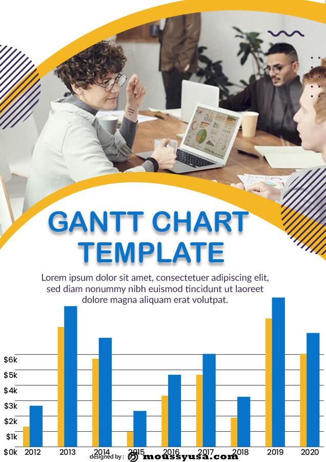 gantt chart in photoshop