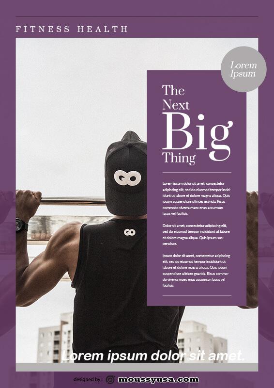 magazine article example psd design