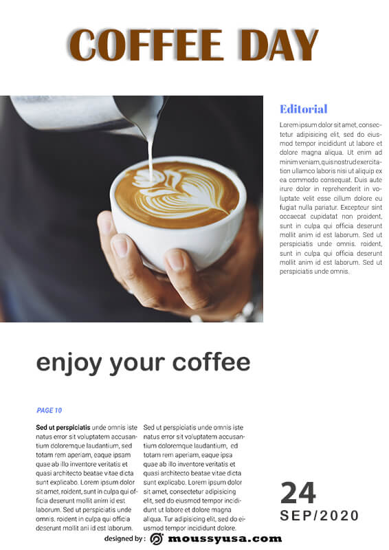 magazine article free download psd