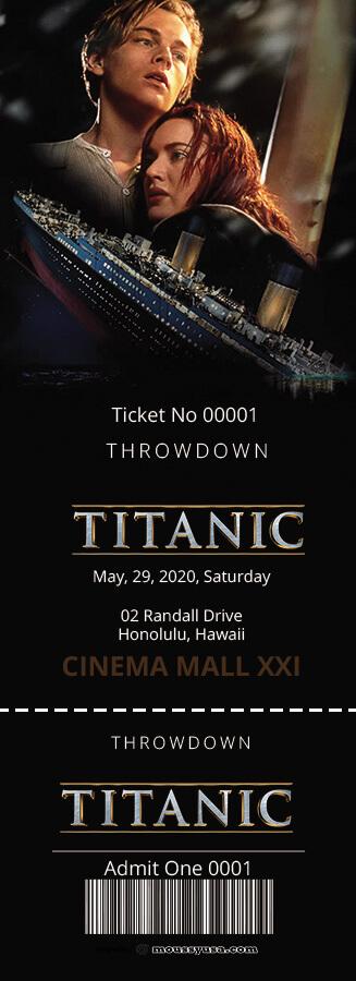 movie ticket in photoshop free download