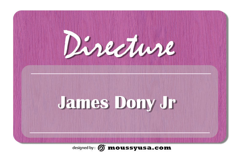 name tag in photoshop free download
