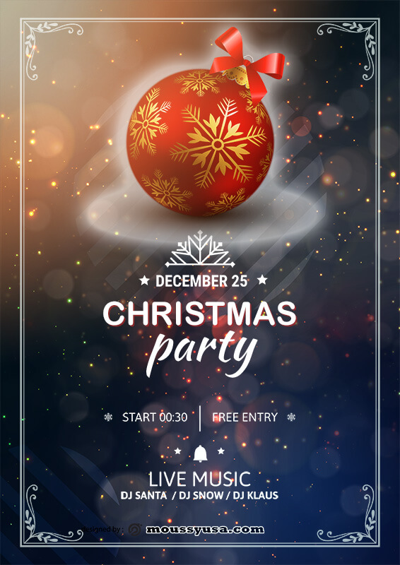 party invitation template free psd