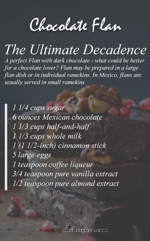 recipe card psd template free