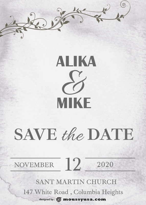 save the date in photoshop free download