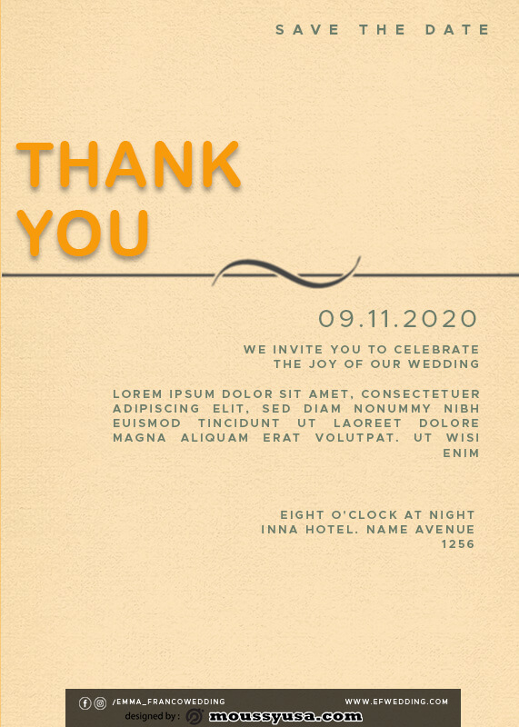 thank card in photoshop free download