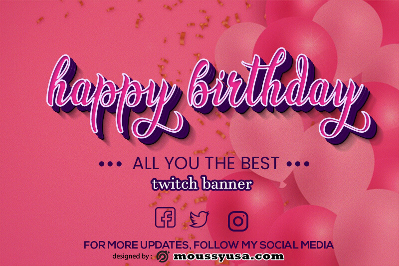 twitch banner free download psd