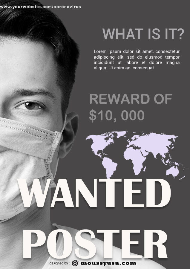 wanted poster free download psd