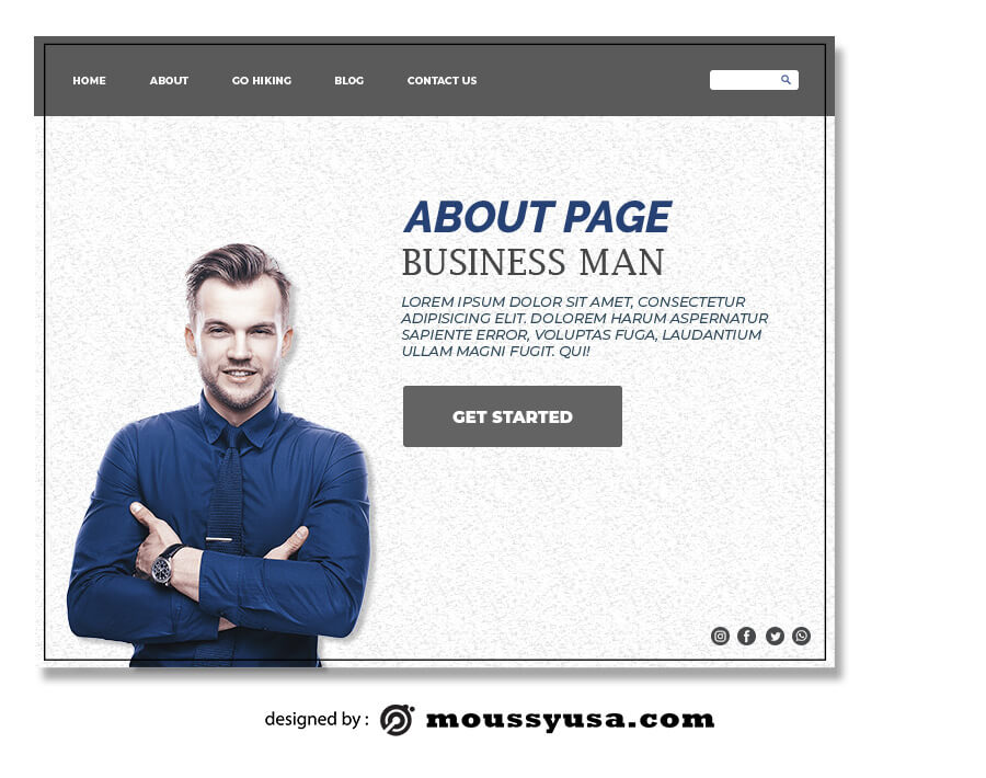 about page in photoshop free download