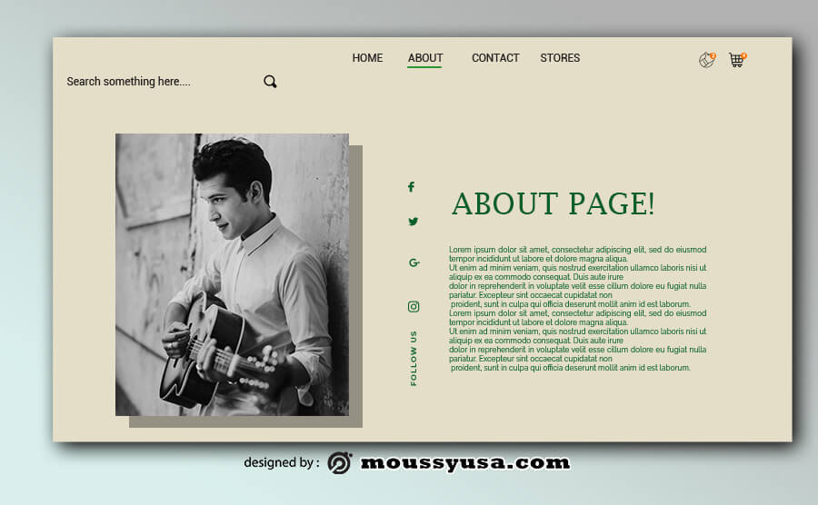 about page in photoshop