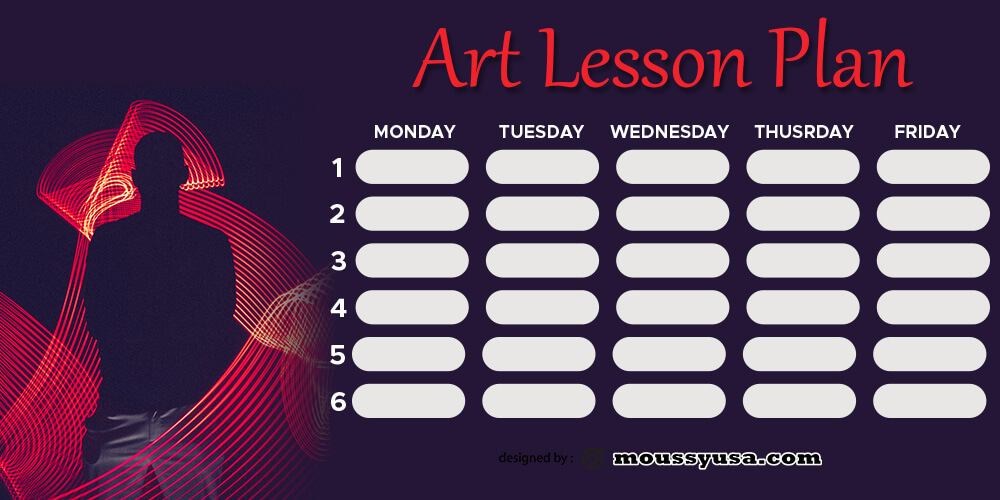 art lesson plan in photoshop free download
