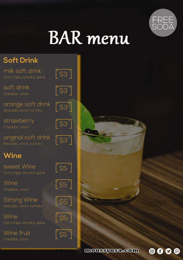 bar menu in photoshop free download