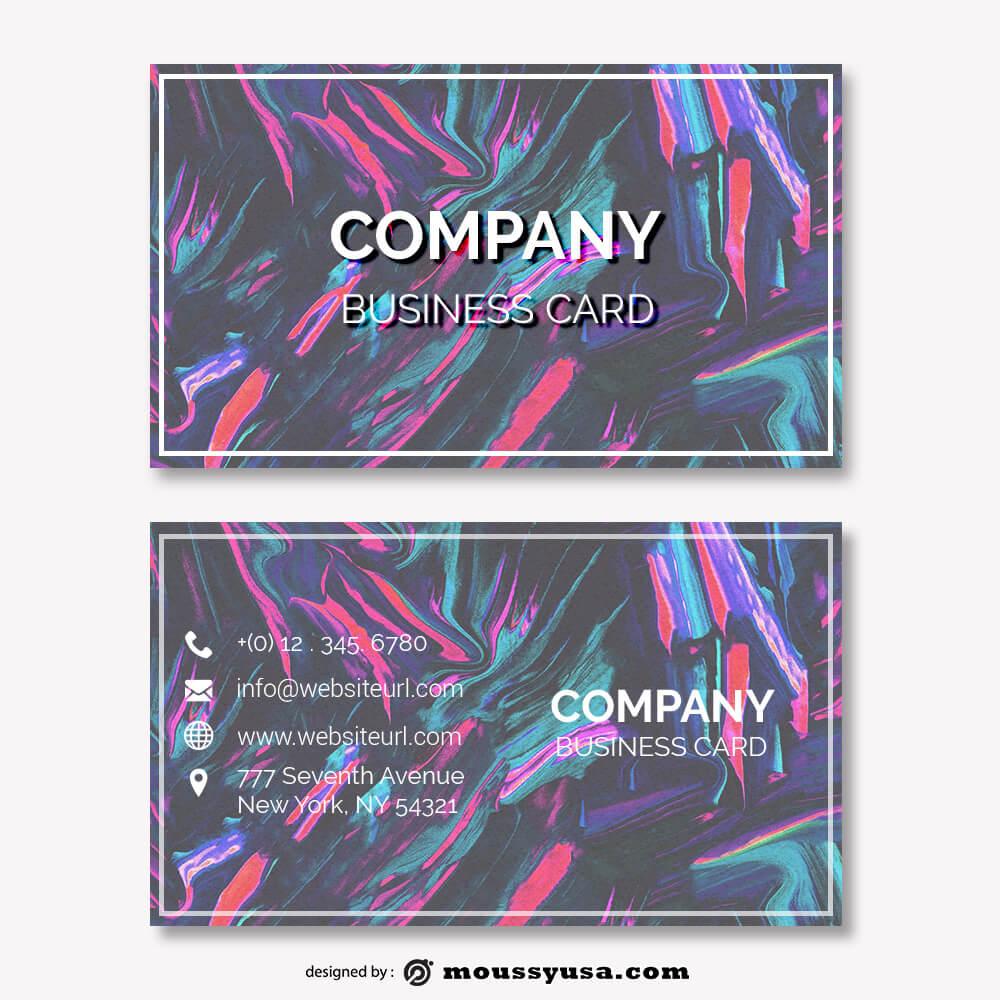 business card design templates customizable psd design template