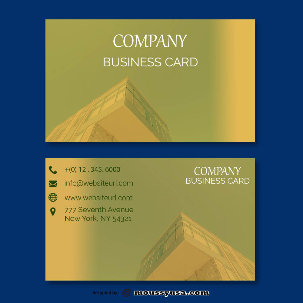 business card design templates example psd design