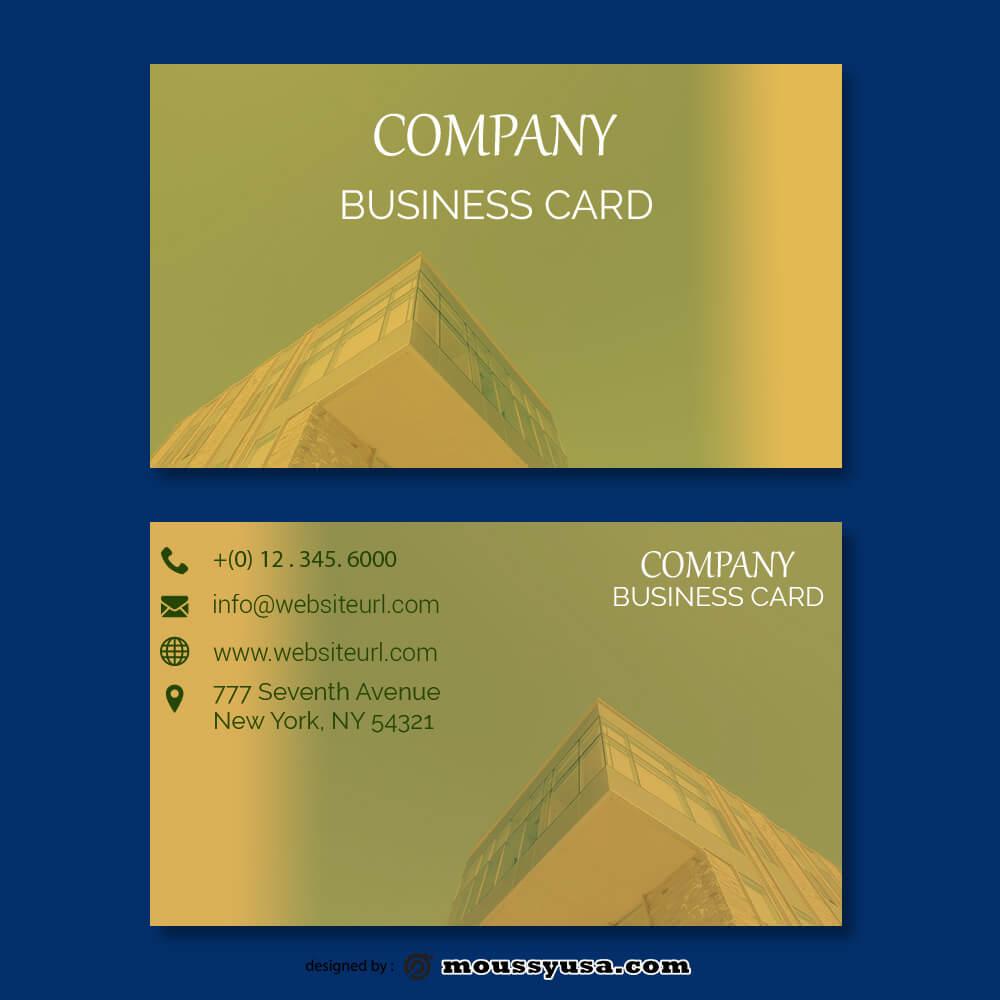 business card design templates example psd design