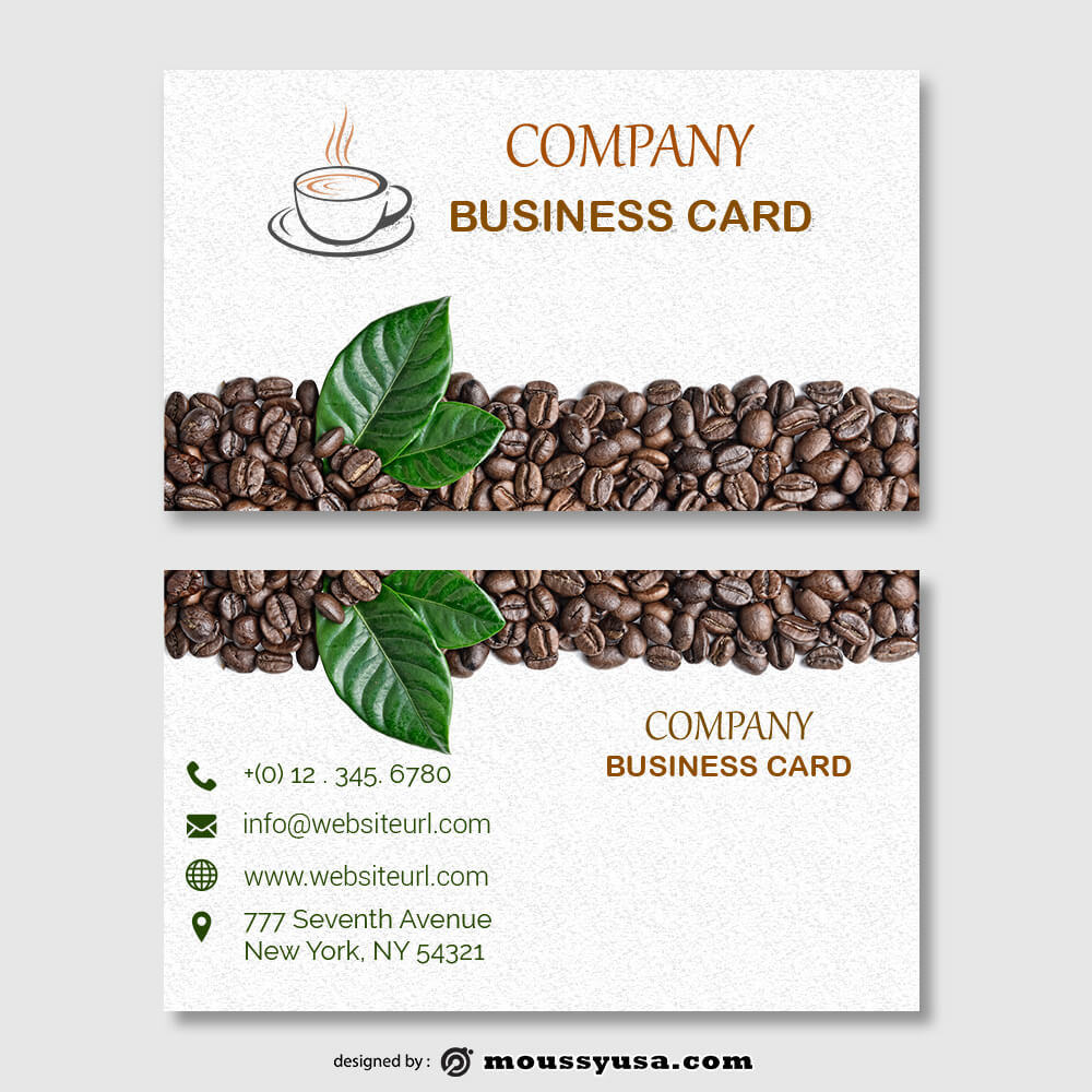 business card design templates free download psd