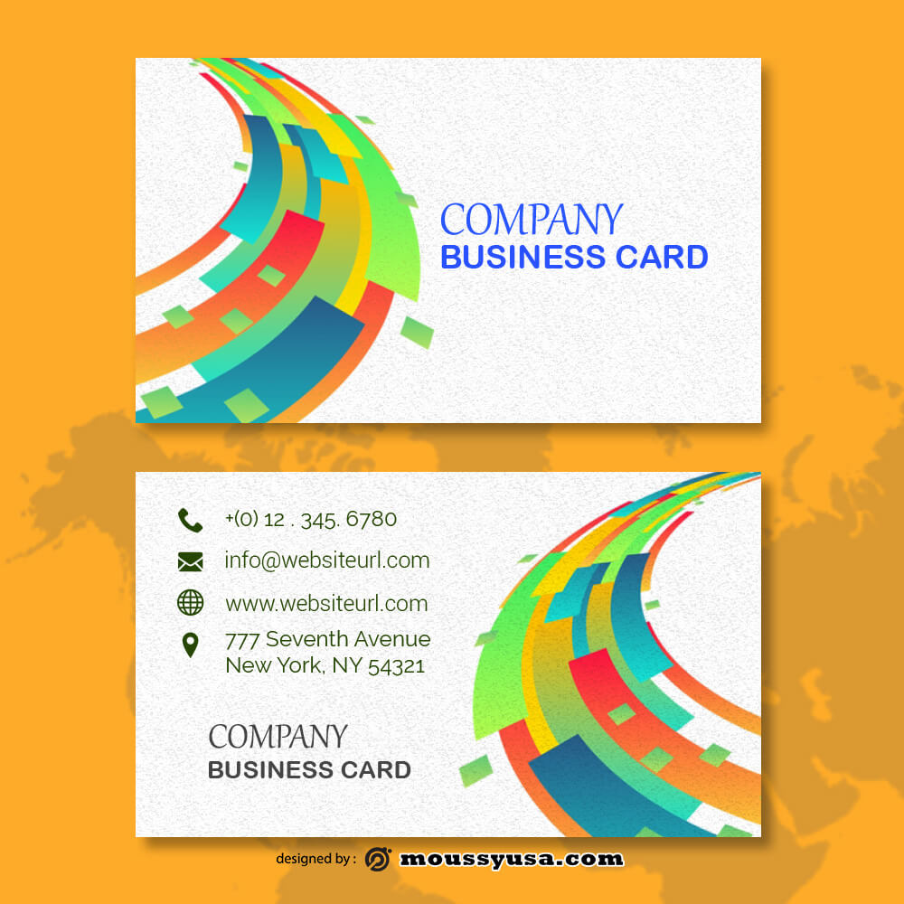 business card design templates in photoshop free download