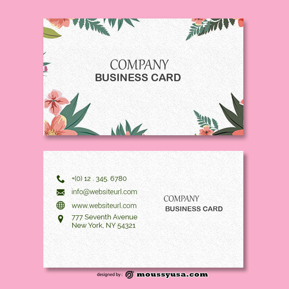 business card design templates in photoshop