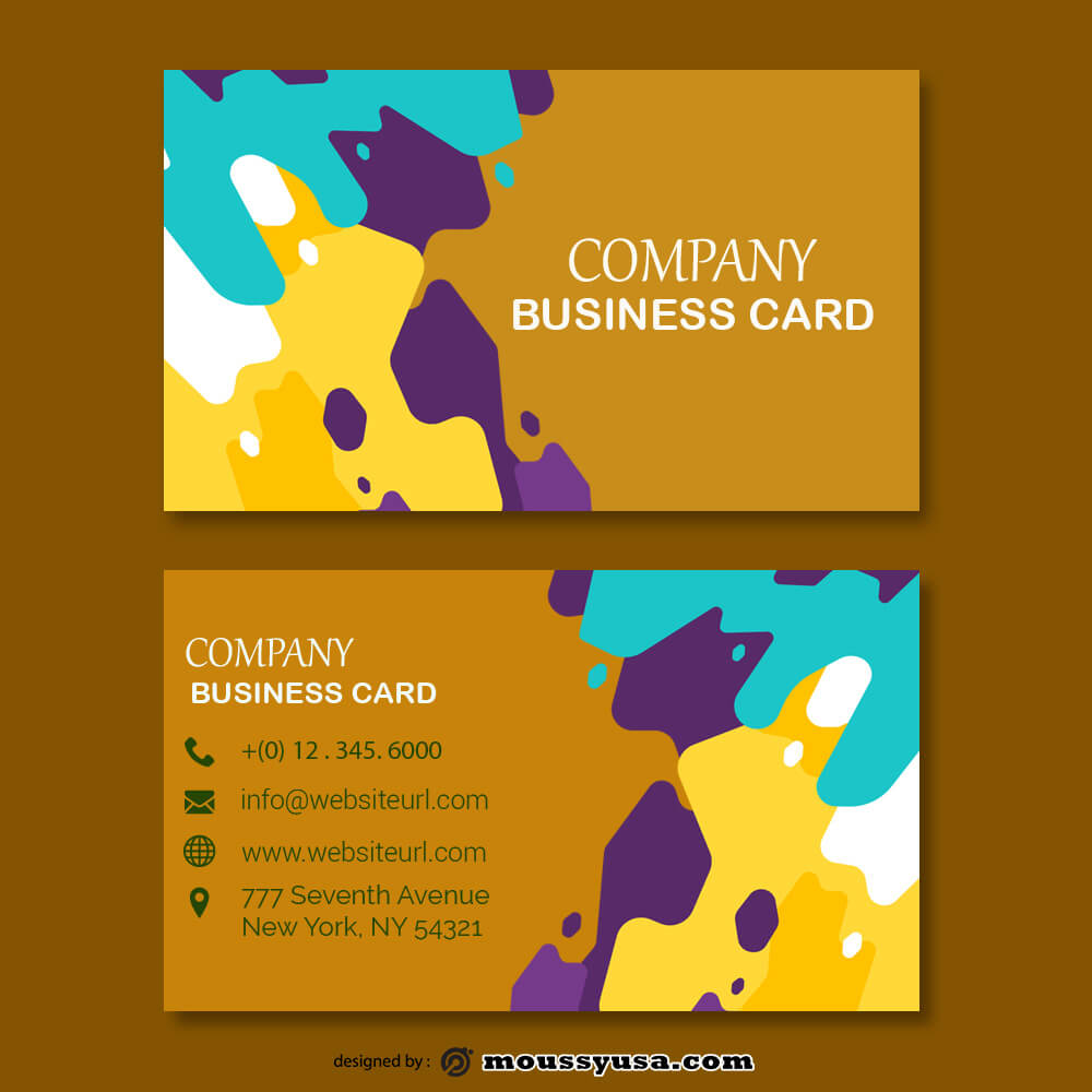 business card design templates template free psd