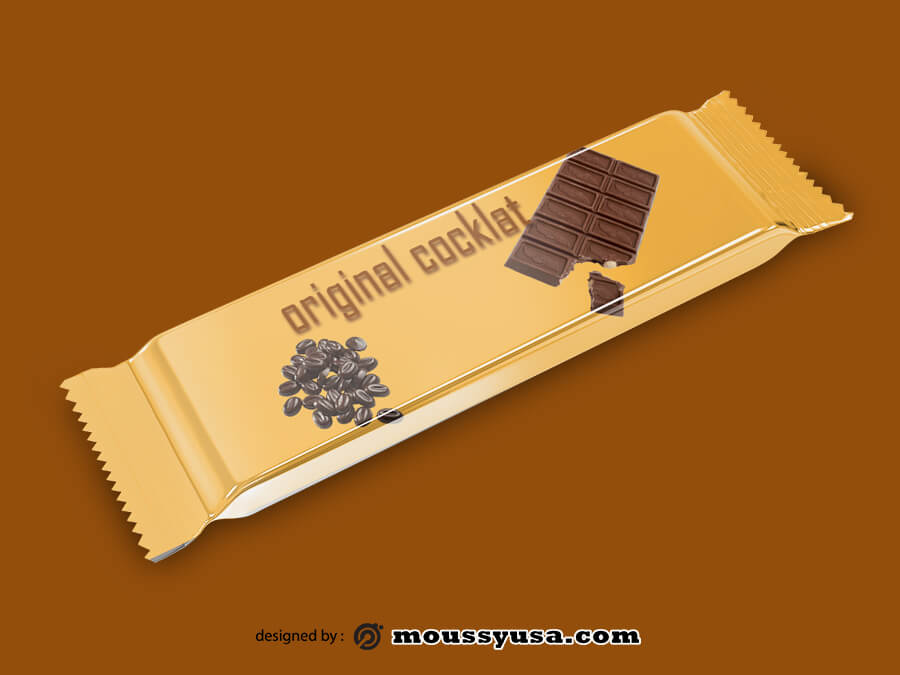 candy bar wrapper in photoshop free download