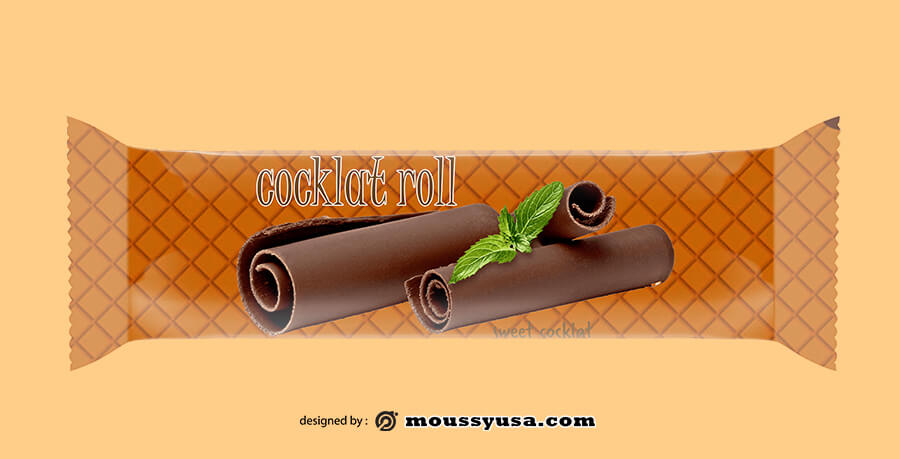 candy bar wrapper in photoshop