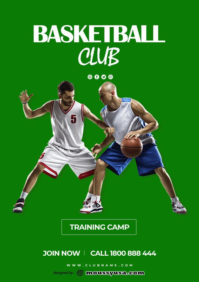 club flyer customizable psd design template