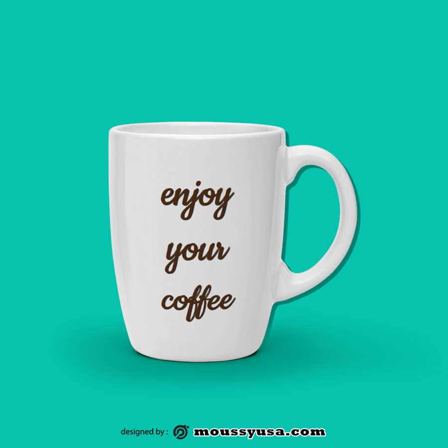 coffee mug in photoshop