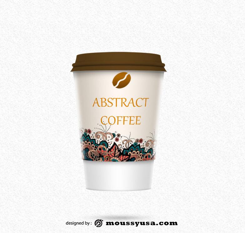 coffee mug template free psd