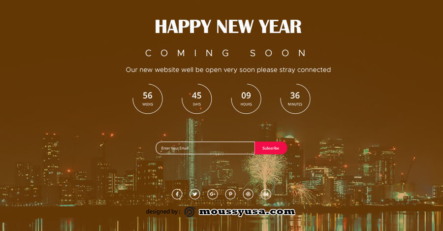 coming soon template template free psd